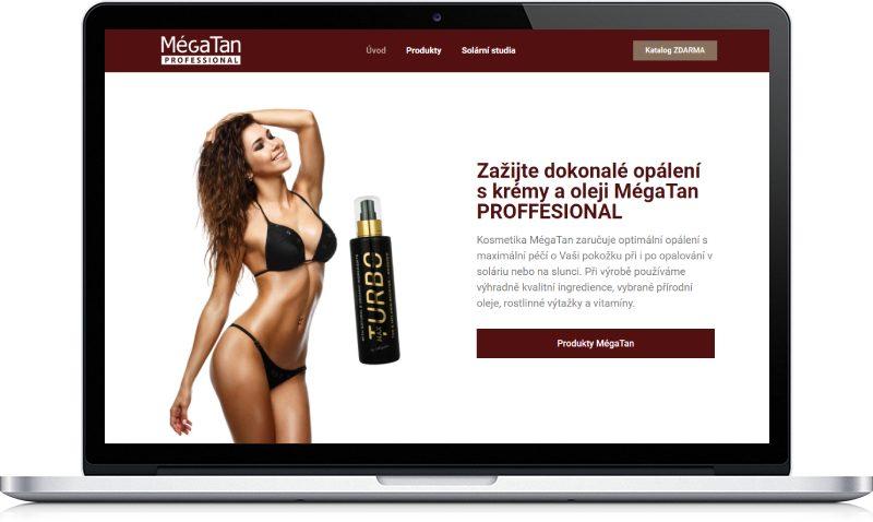 Ukázka webu MégaTan
